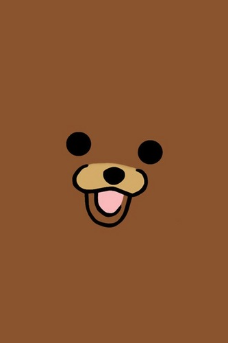 Random wallpaper probably with a laptop entitled Pedobear iPod Wallpaper XD