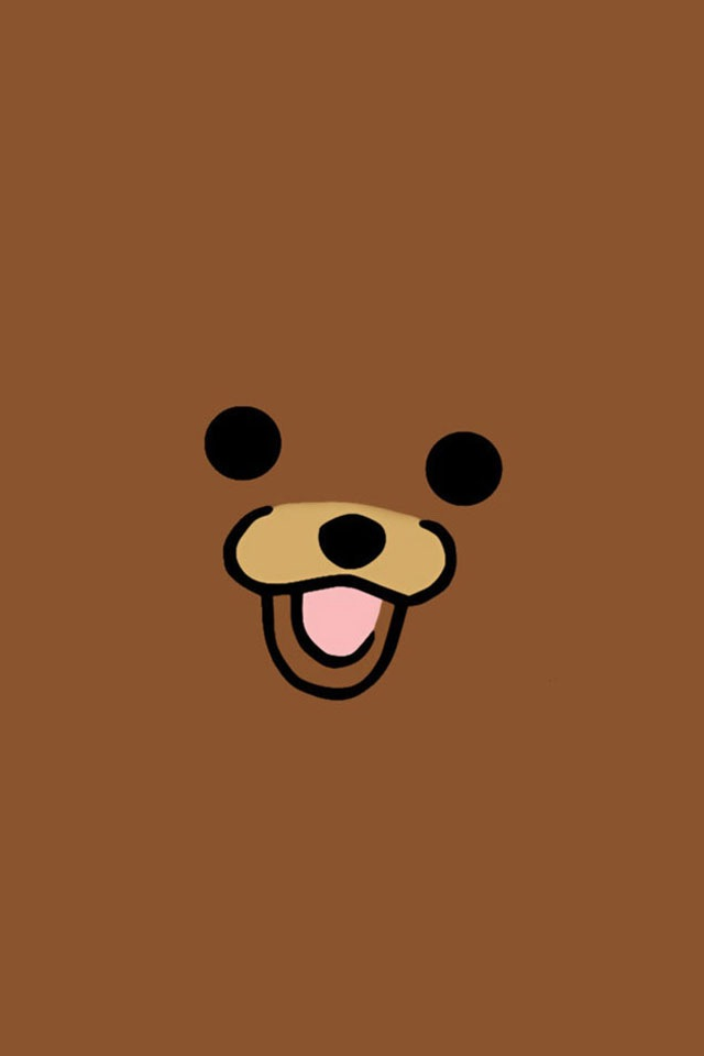 Pedobear iPod Wallpaper XD