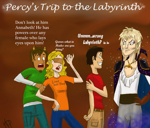 Percy in the Labyrinth