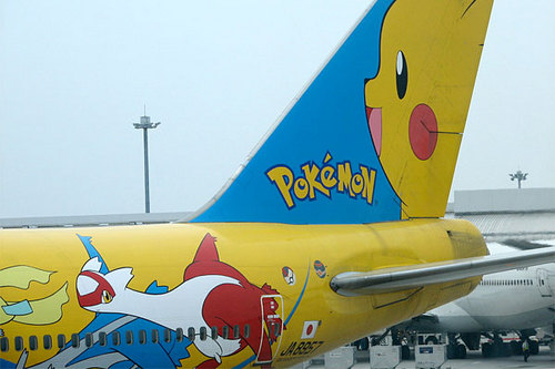 pikachu Airplane!