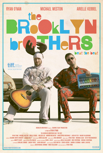 Poster for 'The Brooklyn Brothers Beat The Best' Featuring Michael Weston