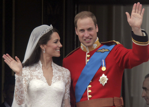 Prince William and Kate Middleton wallpaper possibly containing dress blues titled Prince William & Catherine