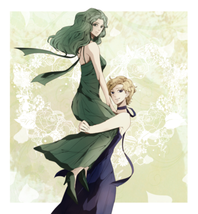 Princess Uranus and Neptune
