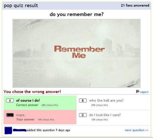 Quiz should be a Pick...