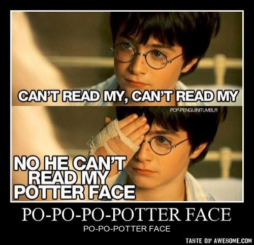 bila mpangilio Potter stuff