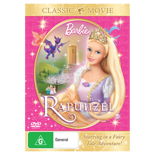"Rapunzel DVD with the ""Classic Movie"" rosa cover!"