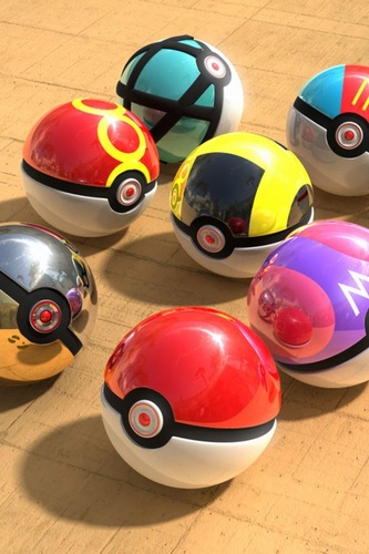 Real Pokeballs XD