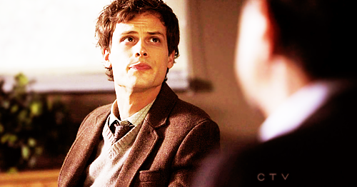 Dr. Spencer Reid wallpaper probably containing a business suit entitled Reid in season 6~
