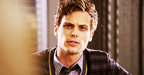 Dr. Spencer Reid Hintergrund probably containing a portrait entitled Reid in season 6~