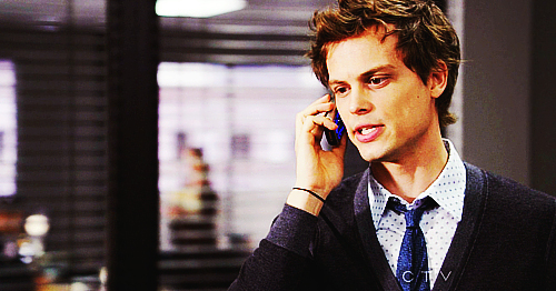 Dr. Spencer Reid wallpaper containing a business suit called Reid in season 6~