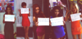 Rochelle, Vanessa, Mollie, Frankie and Una