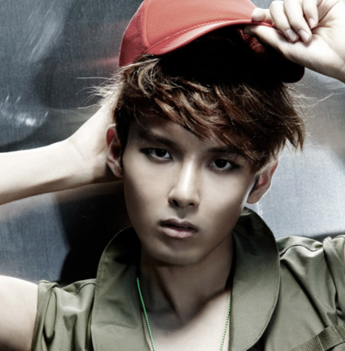 Super Junior fond d'écran with a green beret, fatigues, fatigue, and tenue de combat called Ryeowook - Super Man