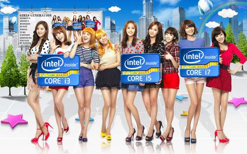 Girls Generation/SNSD wallpaper entitled SNSD Intel