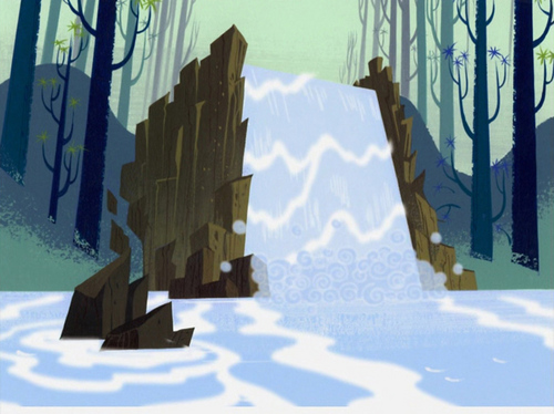 Samurai Jack Hintergrund possibly containing a sign entitled Samurai Jack