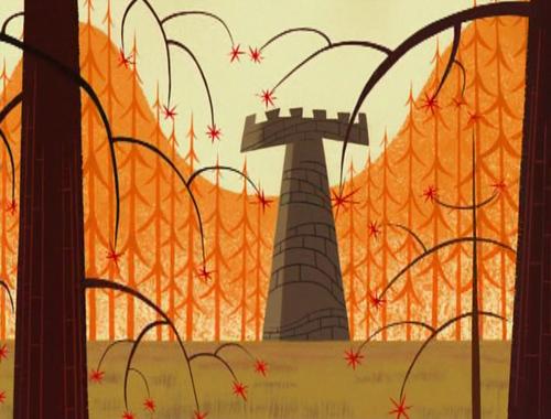 Samurai Jack Hintergrund possibly with a chainlink fence called Samurai Jack