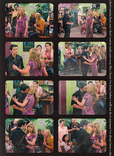 Sam and Freddie wallpaper containing a stained glass window and anime titled Seddie <3