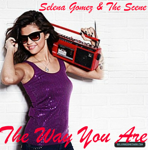 "Selena Gomez And The Scene ""The Way anda Are""(Album:Don't Cry) Official Single Cover!"