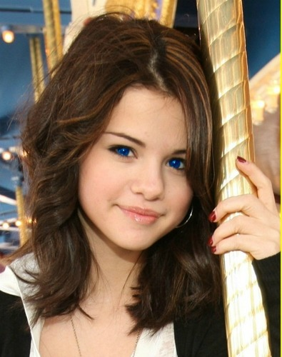 Selena Gomez (blue eyes)