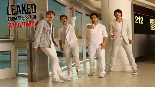 Big Time Rush hình nền called Set of Worldwide