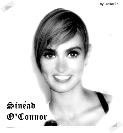 Sinéad O'Connor hair