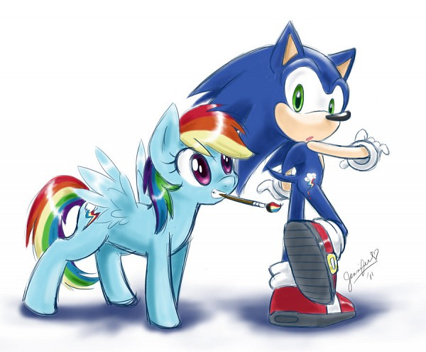 HannahStickles8 Sonic and Pony?