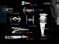 Starfghter Size Comparison Chart