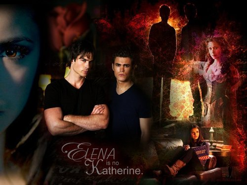 Stefan,Damon & Elena
