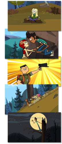 Total Drama Island Hintergrund possibly with Anime titled TDROTI SPOILER PICTURES!