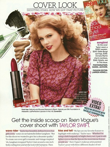 Taylor - Magazine Scans - Teen Vogue - August 2011