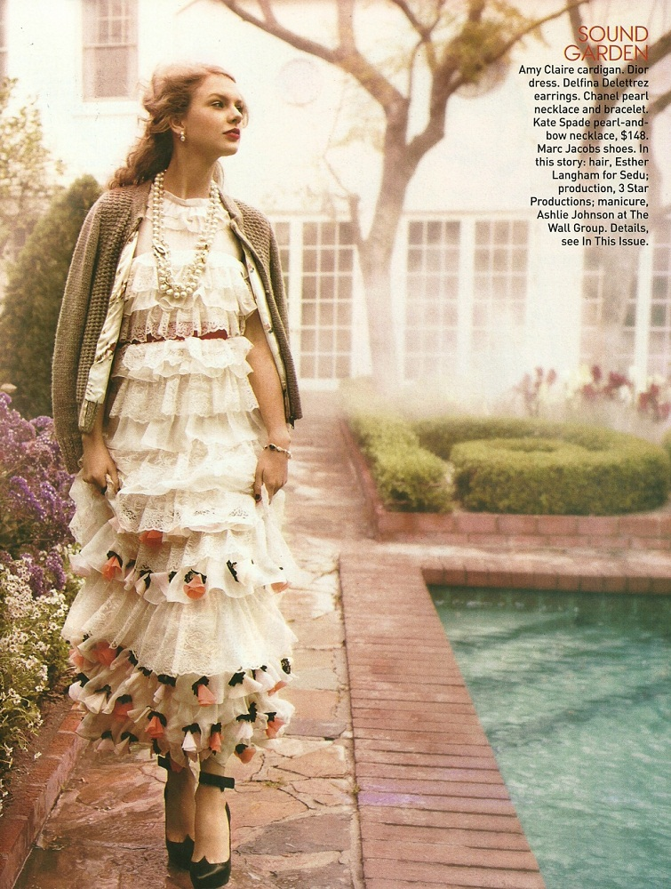 Taylor Swift images Taylor - Magazine Scans - Teen Vogue - August 2011 HD wallpaper and ...