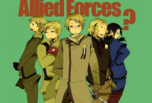 Hetalia پیپر وال containing عملی حکمت titled The Allied Forces?
