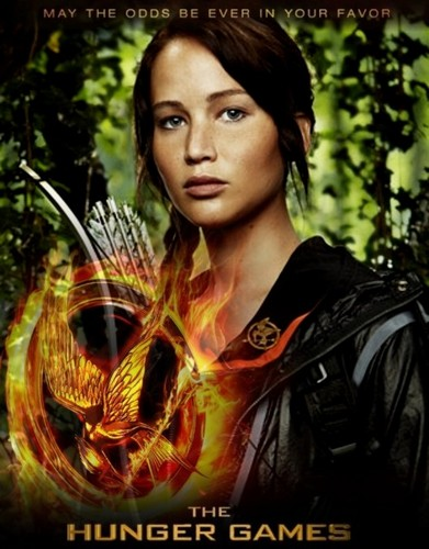 The Hunger Games Movie wallpaper probably containing a portrait called The Hunger Games fanmade movie poster