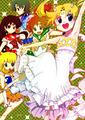 The Inner Senshi + Princess Serenity