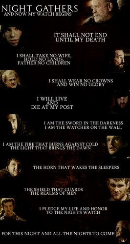 The Oath of the Night's Watch