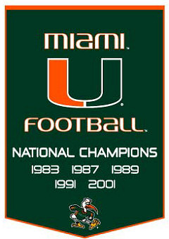 Miami Hurricanes wallpaper entitled The U