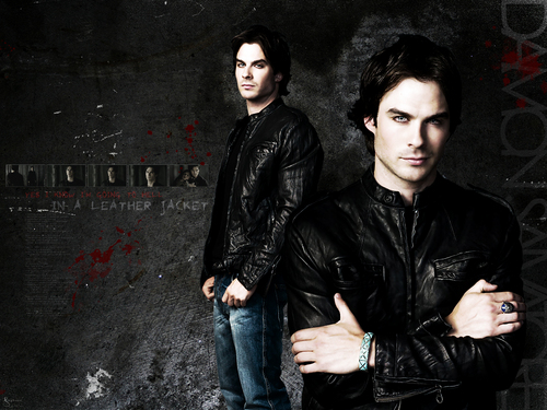 The Vampire Diaries wolpeyper containing a well dressed person called The Vampire Diaries ღ