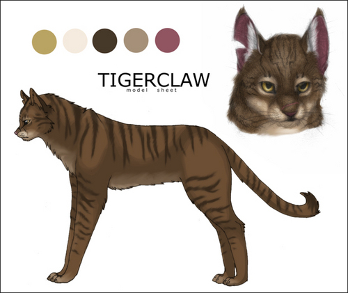 Make Your Own Warrior Cat Wallpaper Possibly With A Tom Called Tigerclaw