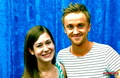 Tom Felton and I :)