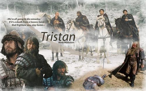 Tristan karatasi la kupamba ukuta King Arthur Mads Mikkelsen