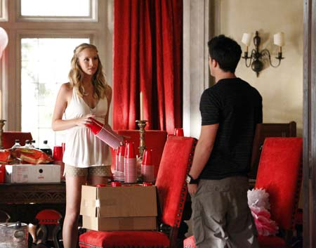 Tyler and Caroline - TVD Season 3 Still