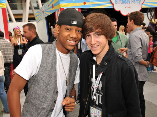 Vincent and Tyler James Williams Power of Youth 2008