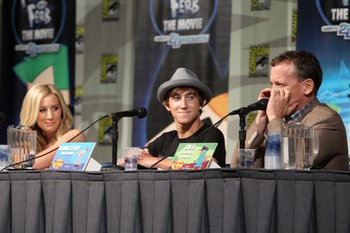 Vincent at Comic Con 2011