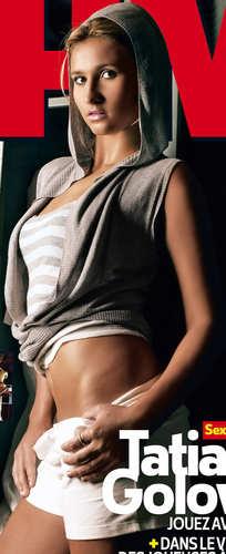 Tatiana Golovin is Gangsta Chic