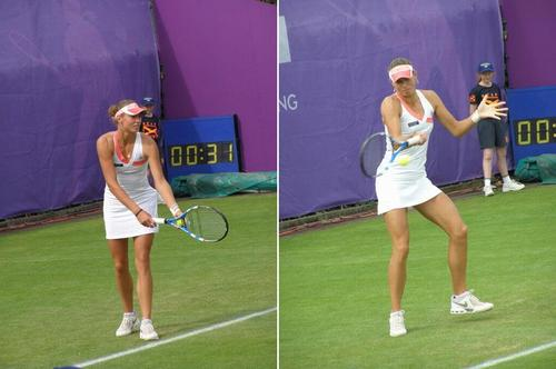 Yanina Wickmayer in Diagonal Play