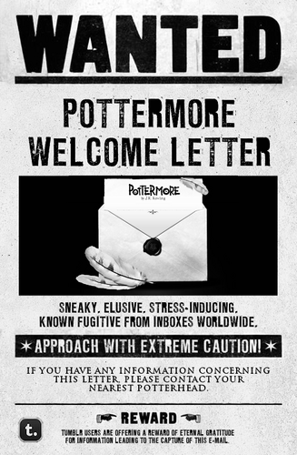 Wanted. - pottermore Fan Art