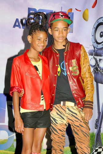 Willow & Jaden at Bet Awards 2011