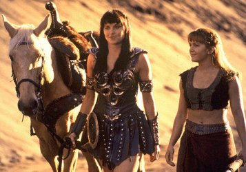 Xena warrior princess cast wallpaper