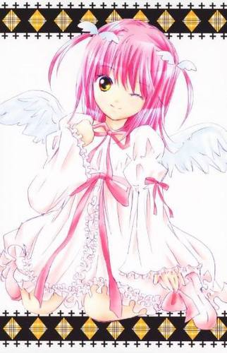 "Shugo Chara wallpaper possibly containing anime titled amu hinamori""s transformation"