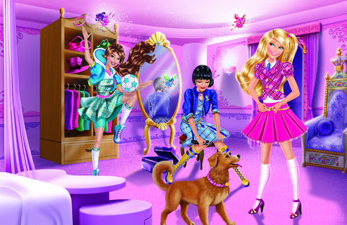 barbie princess charm school new