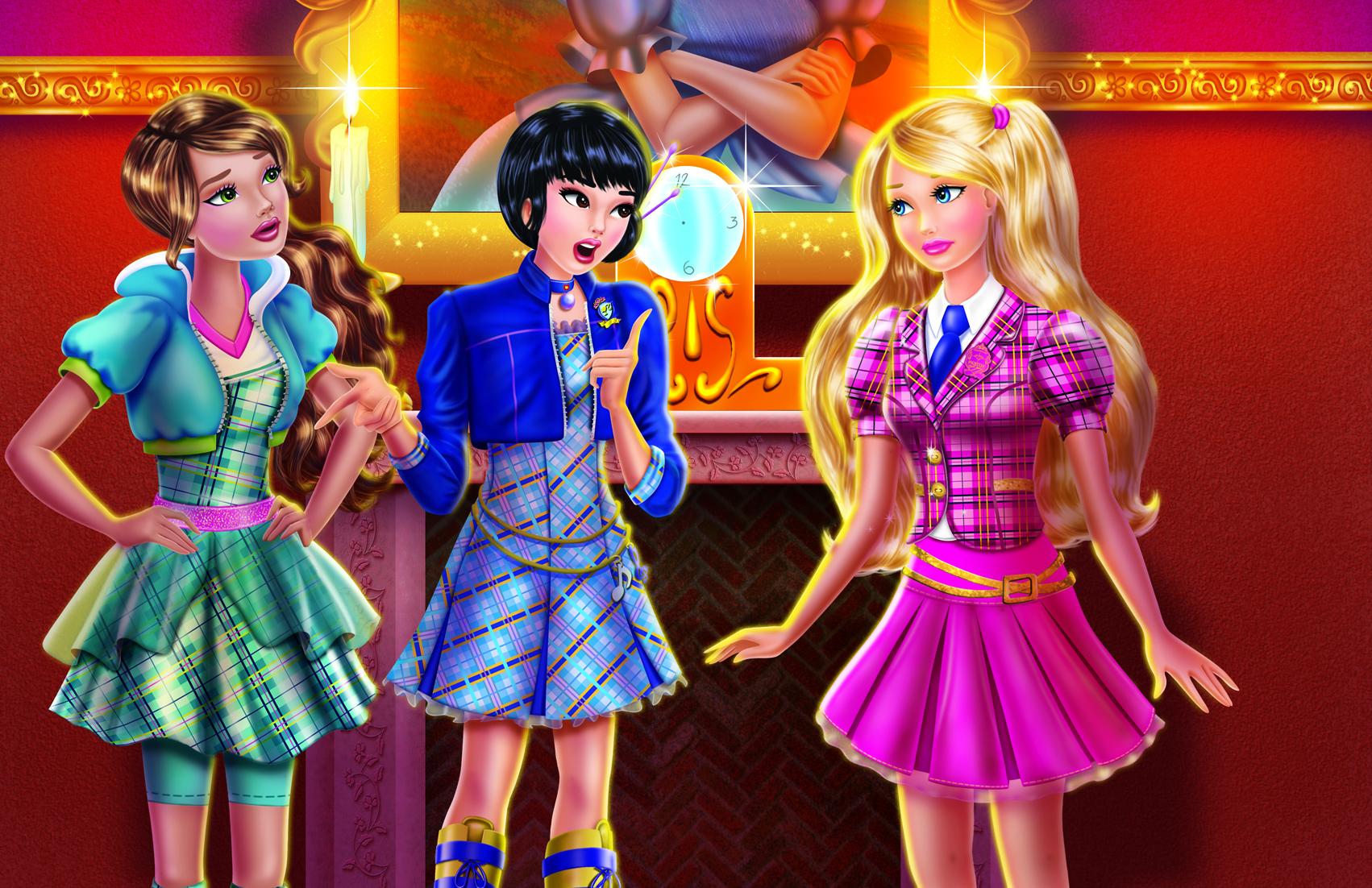 Barbie kouzlo nové školy - Barbie-filmy foto